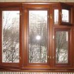 Деревянные оконные рамы из евробруса