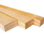 Доска обрезная для строительных работ