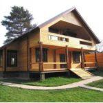 Современное строительство деревянного дома