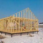 Особенности быстровозводимых каркасных домов