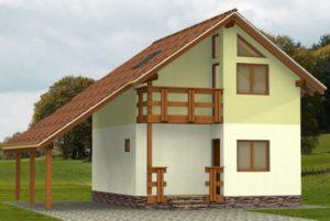 Каркасный жилой дом под ключ
